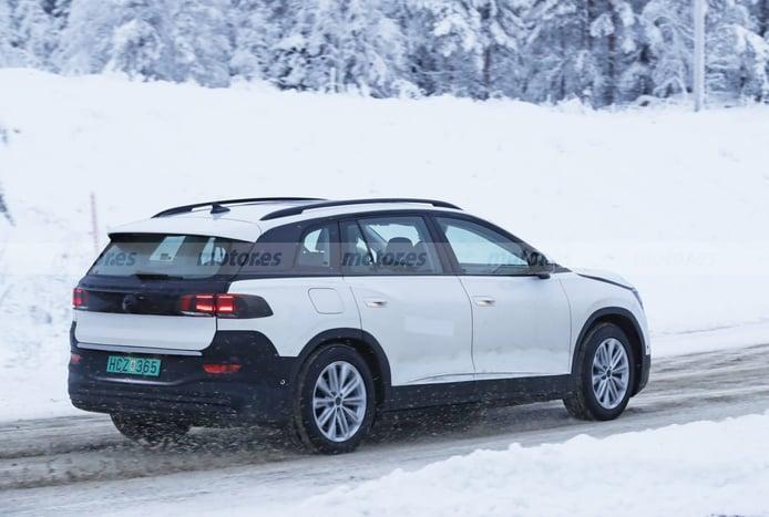 Foto espía Volkswagen ID.6 2022 - exterior