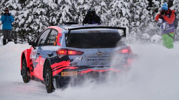 El Arctic Rally debutará en el WRC sin público en sus helados tramos
