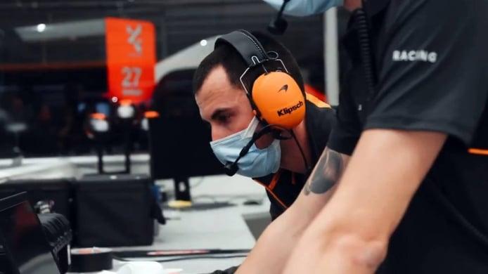 Así suena el MCL35M, el primer McLaren con motor Mercedes desde 2014