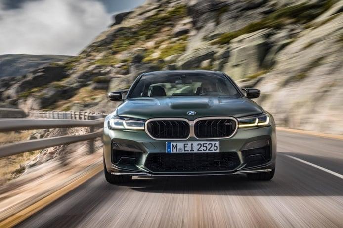 BMW M5 CS 2021, debuta la berlina más salvaje de Múnich con genes de competición