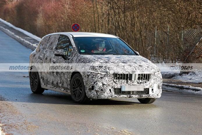 Foto espía BMW Serie 2 Active Tourer 2022 - exterior