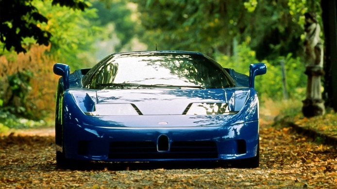 Amores de juventud: el Bugatti EB110