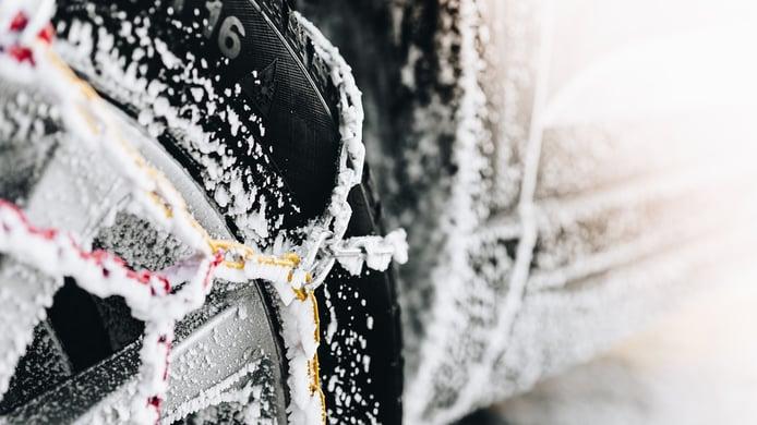 Cadenas de nieve: ¿qué tipos hay y cuáles son las mejores?