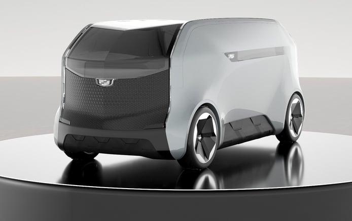 Cadillac presenta un futurista y lujoso vehículo autónomo sin conductor