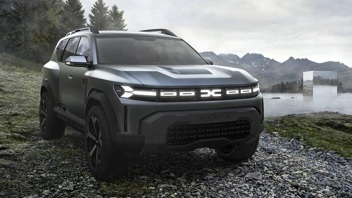 Dacia Bigster Concept, vislumbrando el futuro SUV de 7 plazas