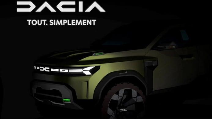 La revolución de Dacia: estrena logo y tres nuevos modelos de cara a 2025