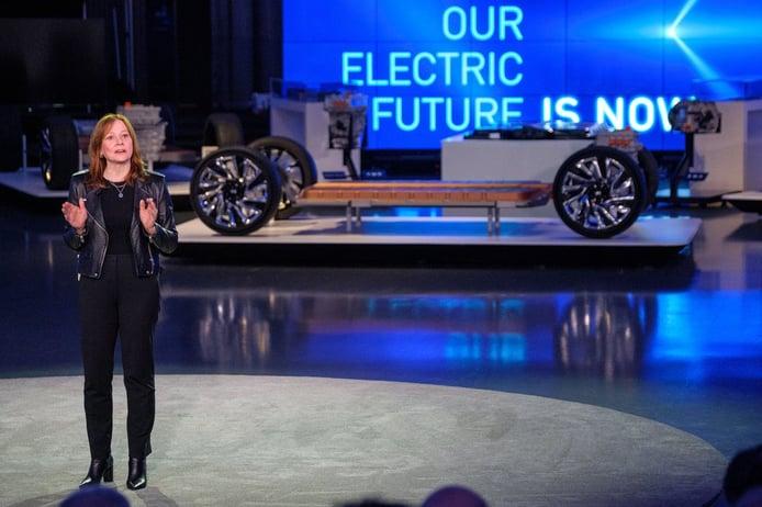 """General Motors será un fabricante """"cero emisiones"""" en 2040"""