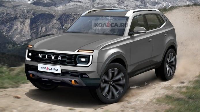 Lada Niva 2024, adelanto de la nueva generación del icónico SUV ruso