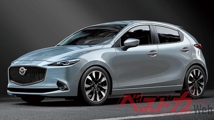 Mazda2 2023, vislumbrando cómo será la nueva generación del utilitario japonés