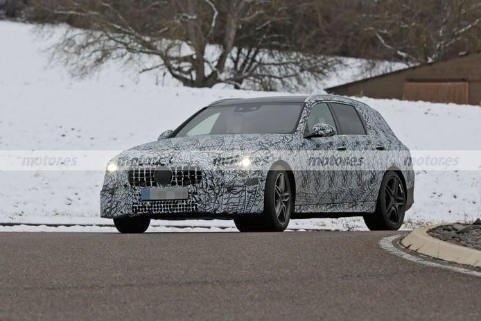 El nuevo Mercedes-AMG C 43 4MATIC Estate 2021 se deja ver cerca de Nürburgring