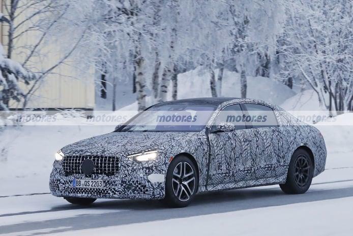 Foto espía Mercedes-AMG S 63 e 4MATIC 2022 - exterior