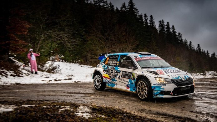 Miguel Díaz-Aboitiz define su programa de seis rallies en el WRC 2021