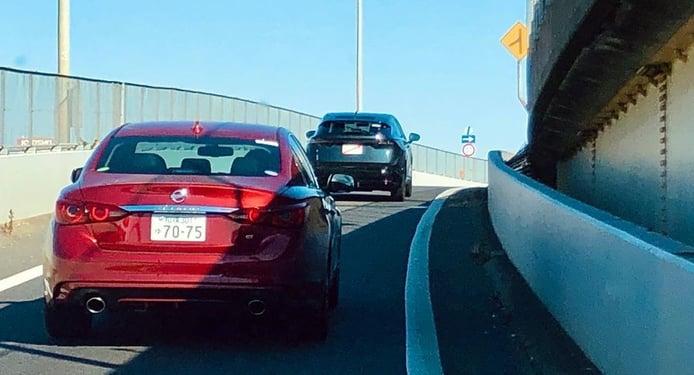 El nuevo Nissan Ariya, grabado en un vídeo espía en pruebas por Japón