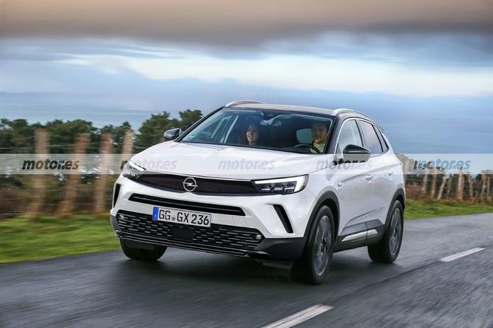Adelanto del Opel Grandland Facelift 2022, el SUV estrenará importantes novedades