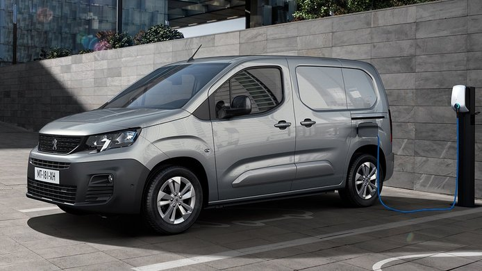 Peugeot e-Partner, una furgoneta eléctrica con hasta 275 kilómetros de autonomía