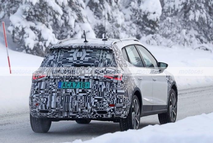 Foto espía SEAT Arona Facelift 2021 - exterior