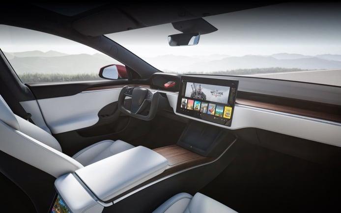 Foto Tesla Model S 2021 - interior