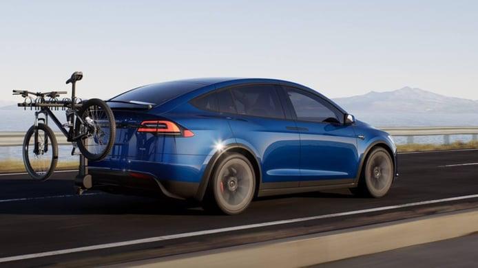Tesla Model X 2021 - posterior