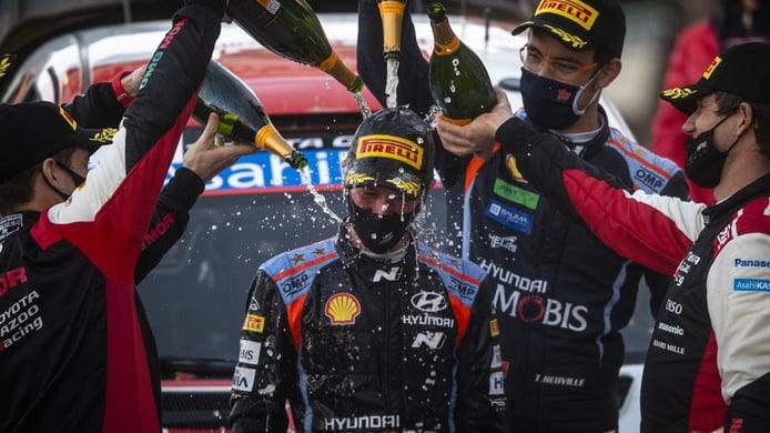 Thierry Neuville también estará con Martijn Wydaeghe en el Arctic Rally