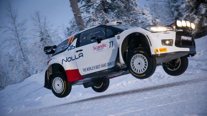 Valtteri Bottas considera que el Arctic Rally va a enamorar al WRC