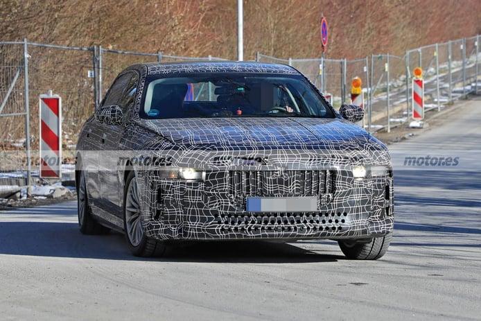 Exclusiva: El BMW i7 2023 y su nivel 4 de conducción autónoma, ¡al descubierto!