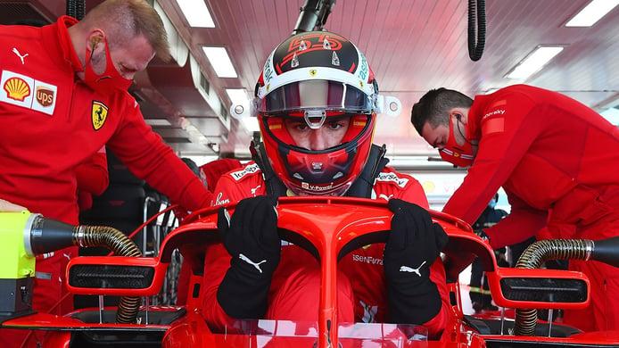 Carlos Sainz probará en Jerez con un Ferrari del pasado los Pirelli del futuro