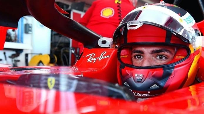 125 vueltas de Sainz para cerrar el test con Ferrari y los Pirelli de 18 pulgadas