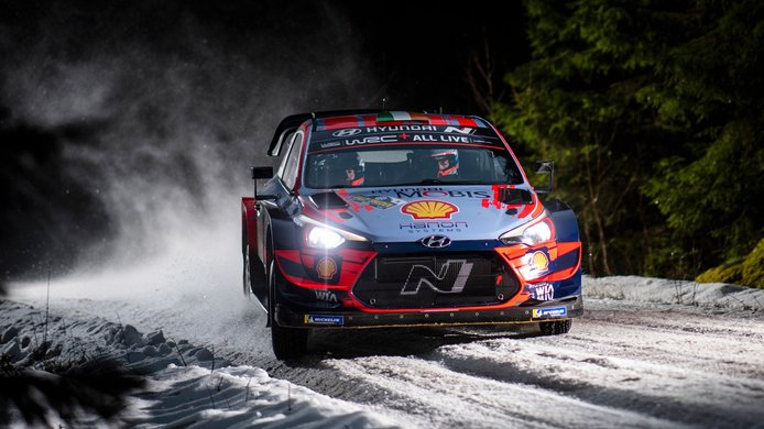 Craig Breen alaba las virtudes del Arctic Rally como prueba invernal