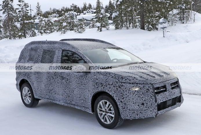 Fotos espía Dacia crossover 2022 - exterior