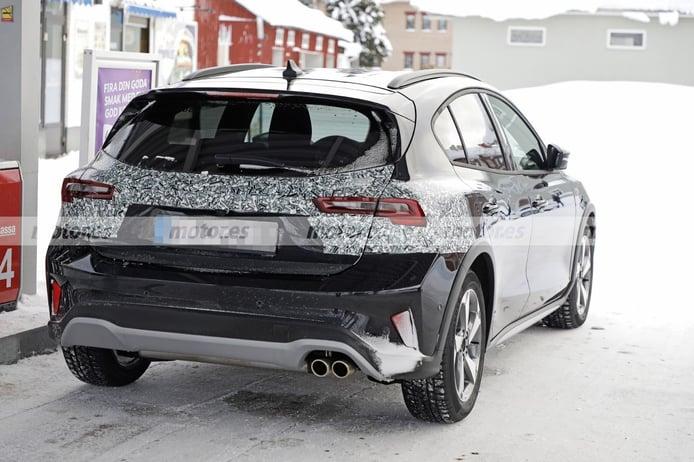Foto espía Ford Focus Active Facelift 2022 - exterior