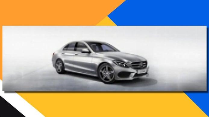 Mercedes Clase C 2014 al descubierto, en una filtración de imágenes oficiales