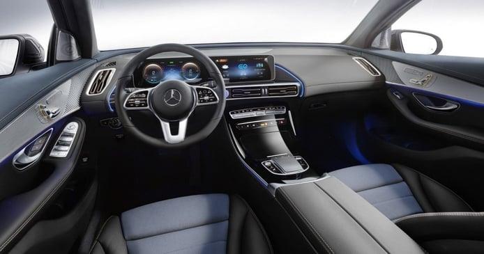 Foto Mercedes EQC 400 4MATIC AMG Line - interior