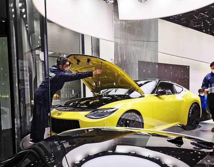 Un descuido confirma que el Nissan Z emplea el V6 Twin Turbo de 405 CV de Infiniti
