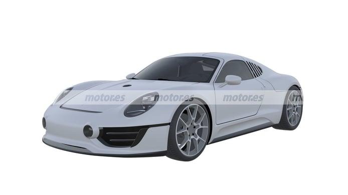 Exclusiva: Porsche patenta el espectacular Le Mans Living Legend concept