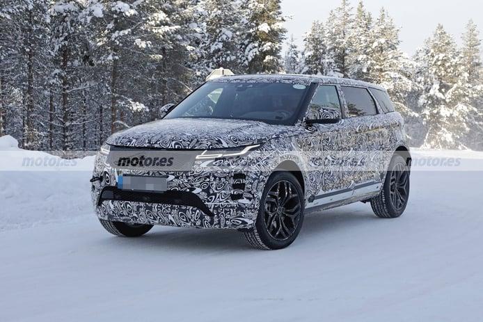 Foto espía Range Rover Evoque LWB 2022 - exterior