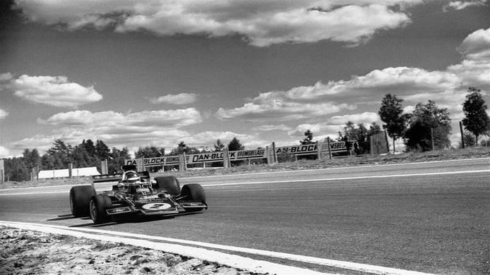 Ronnie Peterson en el Gran Premio de Canadá de 1973