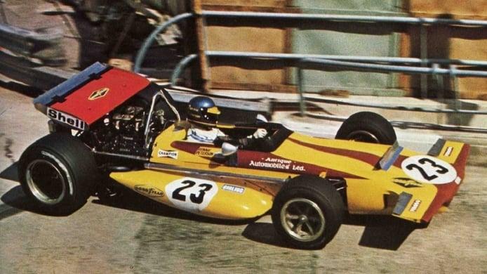 Debut de Ronnie Peterson en Mónaco