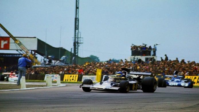 Ronnie Peterson en el GP de Gran Bretaña de 1973