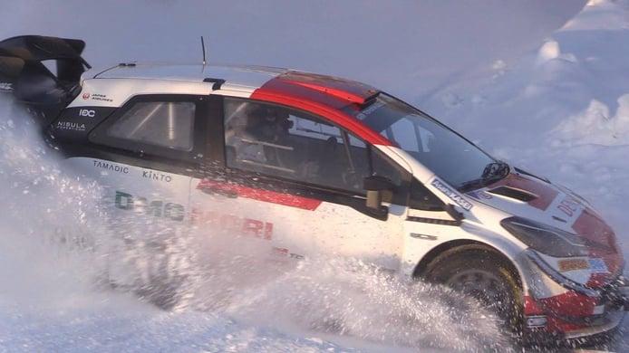 Toyota Gazoo Racing inicia los test de cara al Arctic Rally