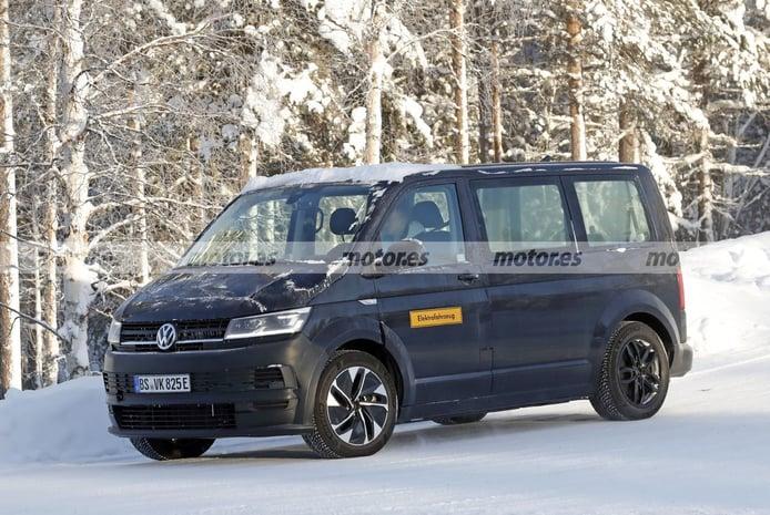 Foto espía Mula Volkswagen ID. Buzz 2022