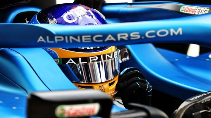Alonso ya ejerce de líder en Alpine F1: «Estuvo en ritmo desde el principio»