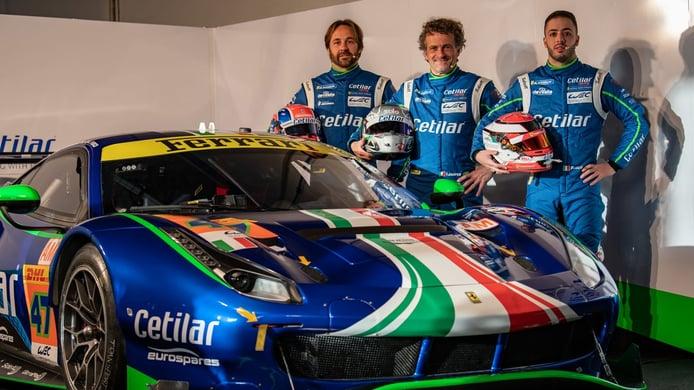 Antonio Fuoco lidera el plantel del Ferrari de Cetilar Racing en el WEC