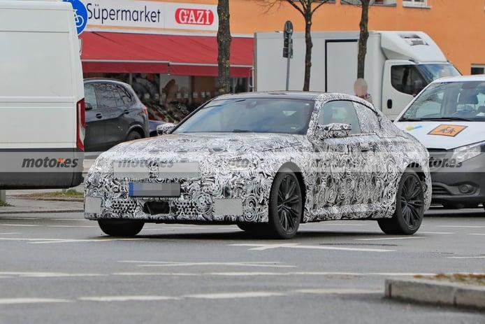 Nuevas fotos espía del BMW M2 Coupé 2023 descubren interesantes detalles