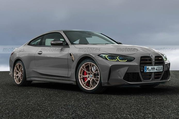 Así será el nuevo BMW M4 CSL 2022, desvelamos su diseño y novedades