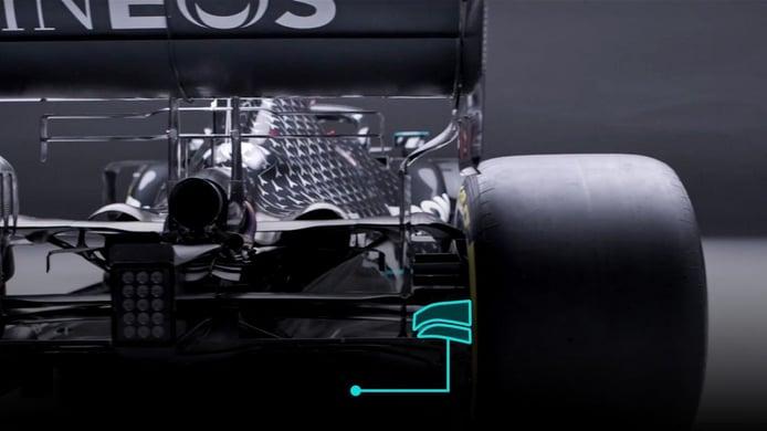 Los cambios aerodinámicos para la temporada 2021 de F1