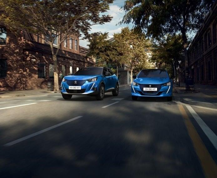 Francia - Febrero 2021: El segmento B de Peugeot triunfa