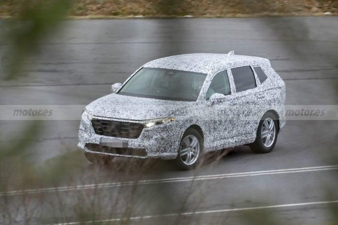 Primeras imágenes del Honda CR-V de nueva generación durante sus pruebas