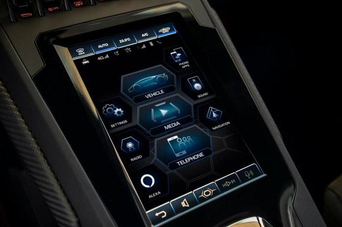 Foto Lamborghini Huracán EVO 2021 - interior