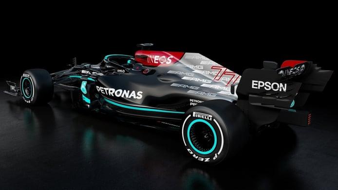 Mercedes presenta un W12 prácticamente sin cambios respecto a su predecesor (con vídeo)