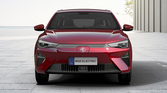 MG5 Electric - frontal